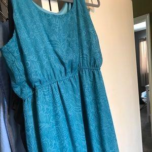 Maurice's Size 2 Blue Dress